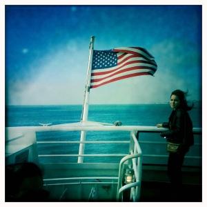 Ferry flag c. hilaryldavis